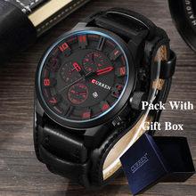 CURREN Топ бренд класса люкс мужские s часы мужские часы Дата Спорт военный кожаный ремешок для часов кварцевые мужские деловые часы подарок 8225(Китай)