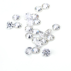 3 0.1 Ct 3 Mm DEF Round Moissanite Factory Price Stargem Moissanite 3mm