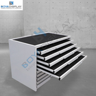 Marble tile displays racks granite sample drawer display rack stone tile display cabinet