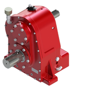 custom made OEM power transmission parts gearbox for pto speed increaser