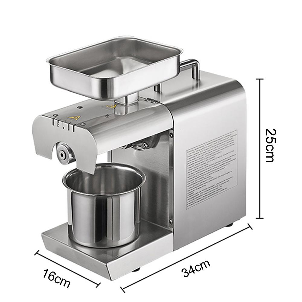 Otomatis Sekrup Home Mini Press Almond Bunga Matahari Minyak Biji Rami Mesin