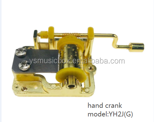 Girl gifts Yunsheng brand custom melody 18 note acrylic gifts music  box