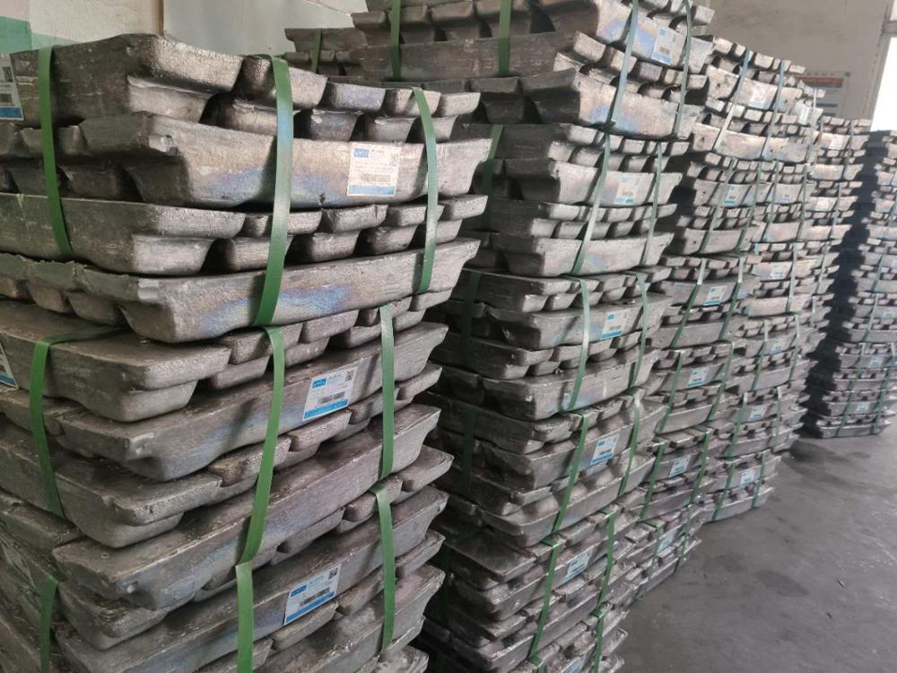 99.9% remelted Lead Ingot / pure lead ingot casting