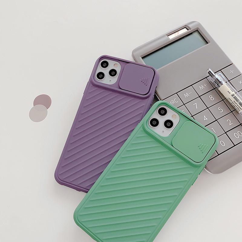 كيف بيع الأزياء كاميرا انزلاق الباب تصميم غطاء الهاتف سيليكون جراب هاتف مع حامي عدسة لفون 12 برو ماكس