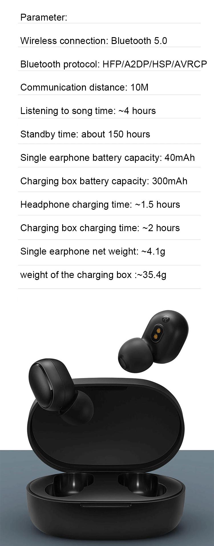 Neue bluetooth kopfhörer bluetooth kopfhörer mini wireless kopfhörer original air punkte für xiaomi