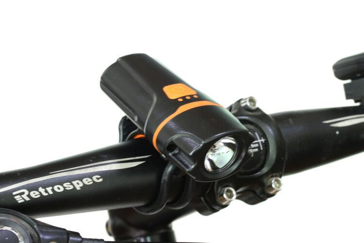 New Bicycle One Headlights USB Rechargeable Light Headlights Warning Light Night Riding Lights Led Riding Equipment