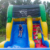 dubai fun child commercial inflatable bouncy castle water slide