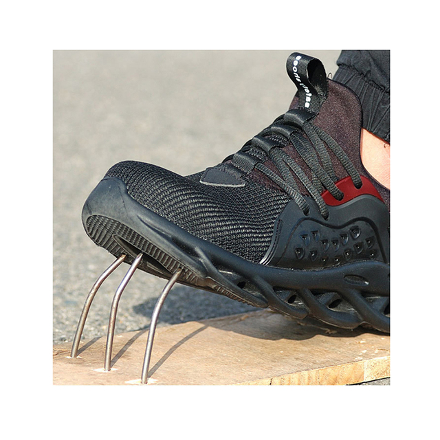 IMMORTAL Indestructible Shoes Ryder SteelToe Safety Boot Lightweight Breathable