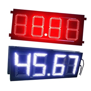 Advertising Moves Fuel Red Green Blue Amb 8888 Gas_sign Station Led Gas Price Display