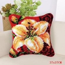 Набор крючков для рукоделия с цветами и растениями, посылка на пуговицах, сделай сам, ковер для вышивания цветов(Китай)