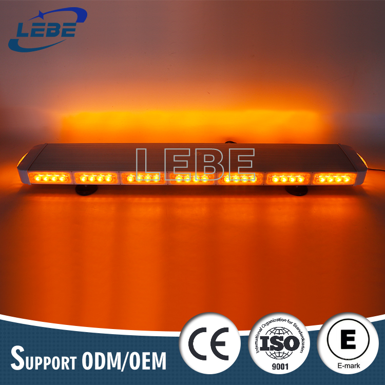Super bright fire truck light bar police emergency vehicle warning light