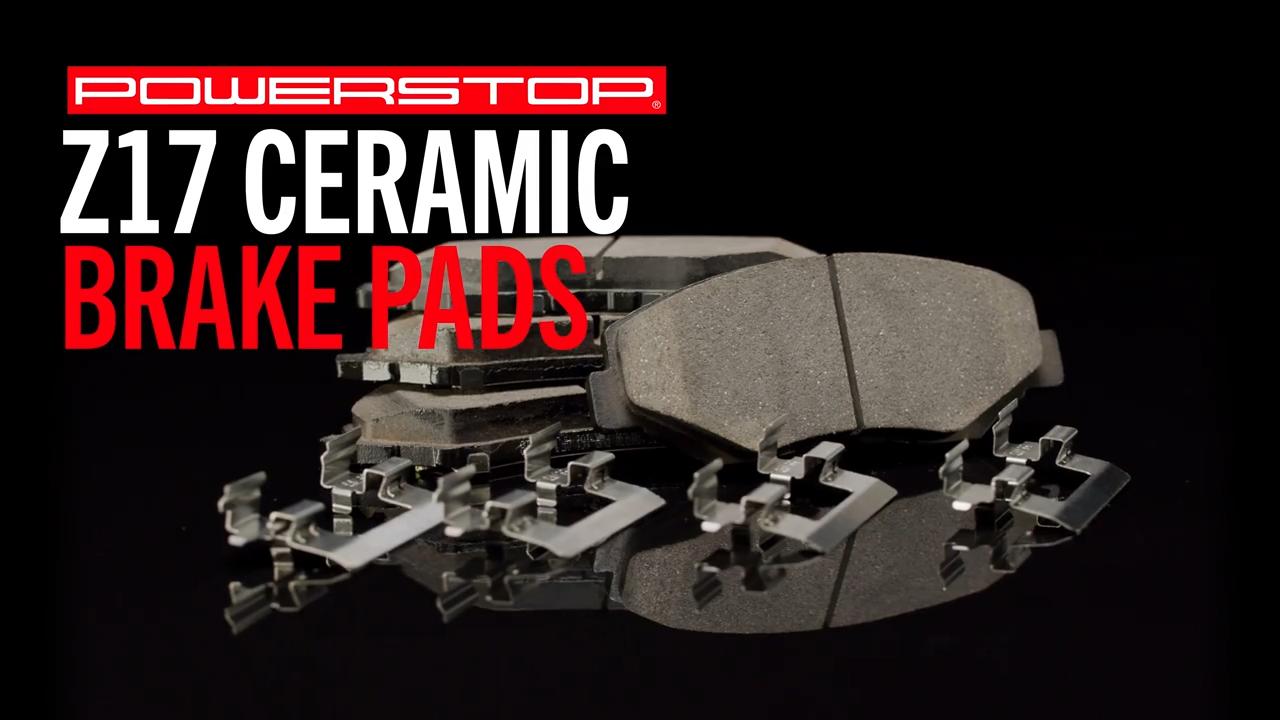 U.S.top rated D537 Z17 Power Stop Evolution Ceramic Brake Pads for HONDA