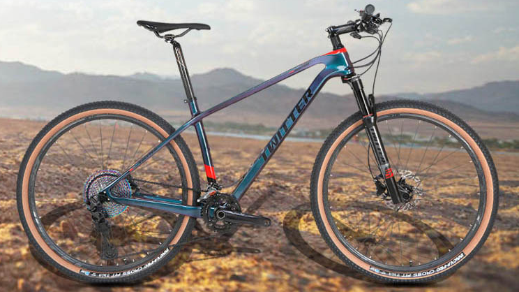 Twitter yeni varış karbon dağ bisikleti 29er/27.5er holografik renk mtb bisiklet GX 12 hız grupları groupsets bisiklet