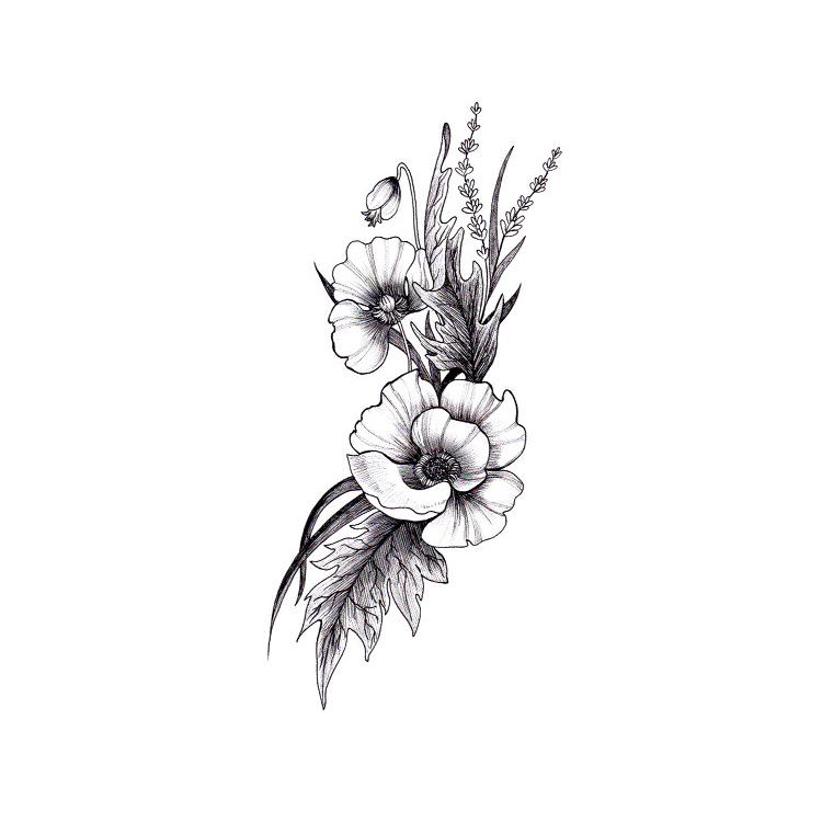 Desenhos De Tatuagens Rosas De Atacado Compre Os Melhores Lotes