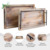 Wholesale High Quality 2 Pc Rustic Goods Wooden Serving Trays With Handles
