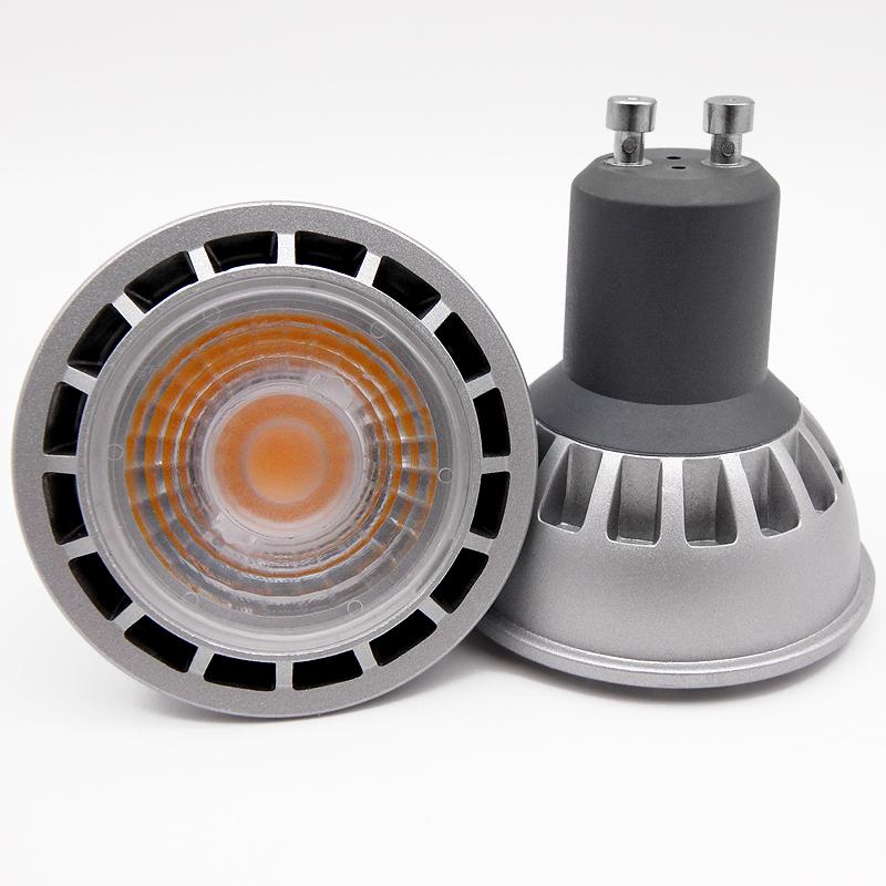 SHENPU Mr16 Gu5.3 Led Dimmable 15 Degree 110 / 220V COB 5W 7W Gu10 Led Spot Light