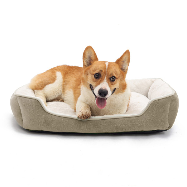 Superior Quality Pet Dog <strong>Bed</strong> Machine Washable with Non-Slip Bottom and Reinforced <strong>Edges</strong>