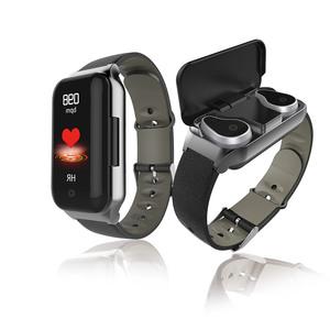 Bracelet wrist 2-in-1 tws bt headset L818 smart earbuds watch