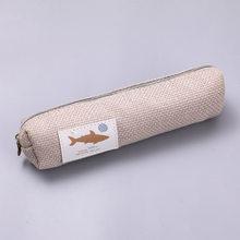 Студенческий чехол для ручки с изображением животных, пенал для карандашей, чехол для канцелярских принадлежностей, милая Корейская сумочк...(Китай)