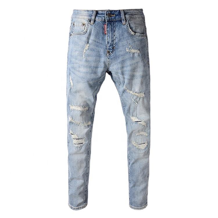 Pantalones Desgastados Para Hombre Vaqueros Rasgados De Fabricante A La Moda Para Hombre Buy Pantalones Vaqueros Para Hombre Vaqueros Rayados Pantalones Vaqueros Product On Alibaba Com