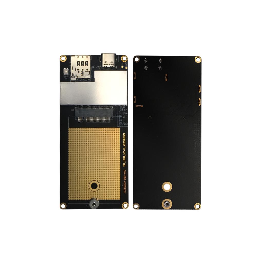 NGFF Kartu Adaptor Modul LTE Konverter Tipe-c, Kartu Adaptor Kunci E Ke Konverter Tipe-c untuk WiFi/3G/4G/5G