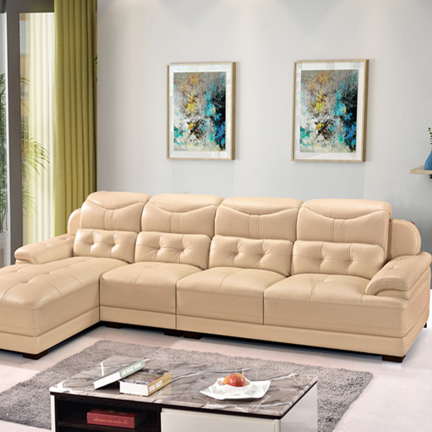 Home Furniture Luxury Leather Sofas