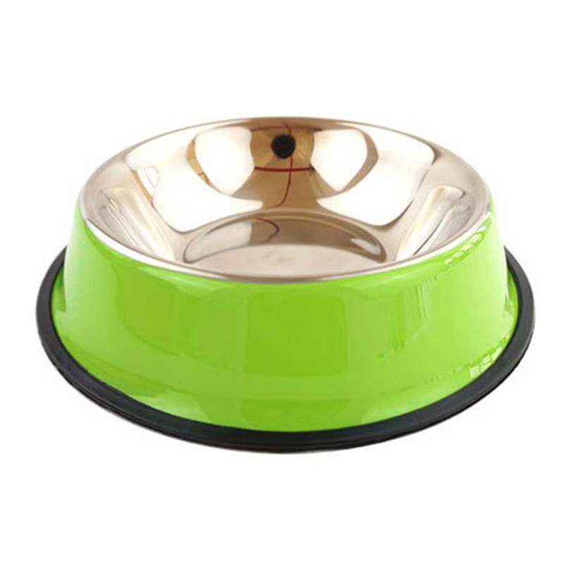 Petshop The Best Medium Melamine Round Stainless Steel Pet <strong>Dog</strong> <strong>Bowl</strong>