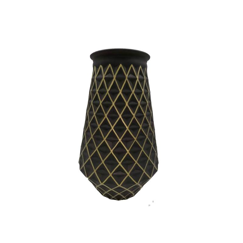 Modern home goods decorative glass large vase for living room