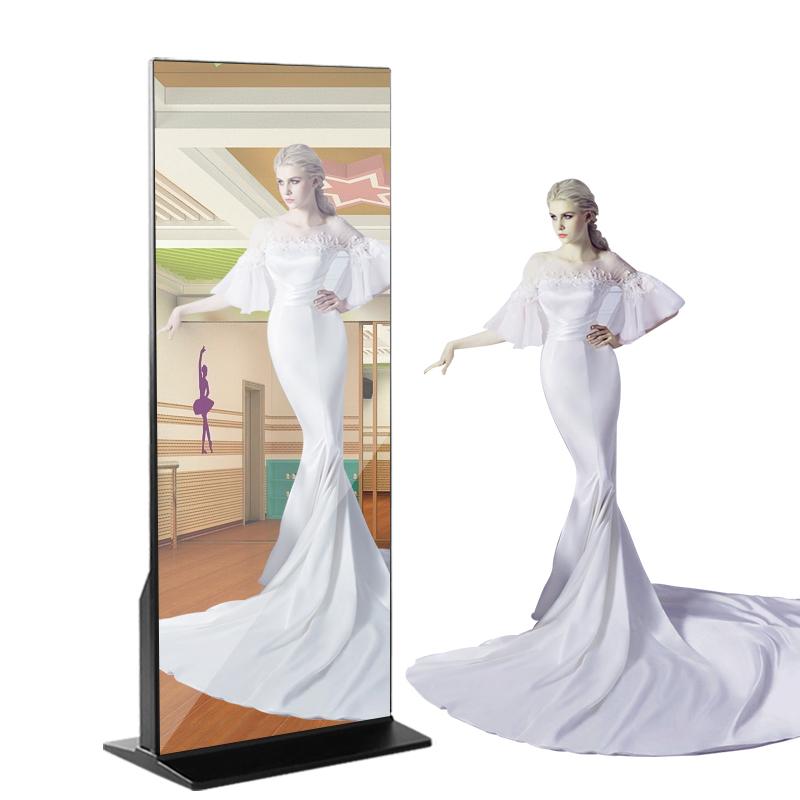 43 inç 55 inç interaktif dokunmatik ekran LCD reklam dijital tabela ayna