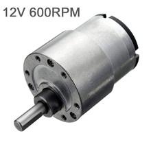 Бытовой 12В электродвигатель для снижения скорости двигателя для роботов маленькая бытовая техника вентиляторы электрические шторы 7-600 об/...(Китай)