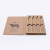 Logo Custom Printed Recycle Paper Packaging Corrugated Cardboard Knife Box