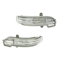 Left and Right Door Mirror Turn Signal Lights For Mercedes Benz W203 L 2038201521; R 2038201621