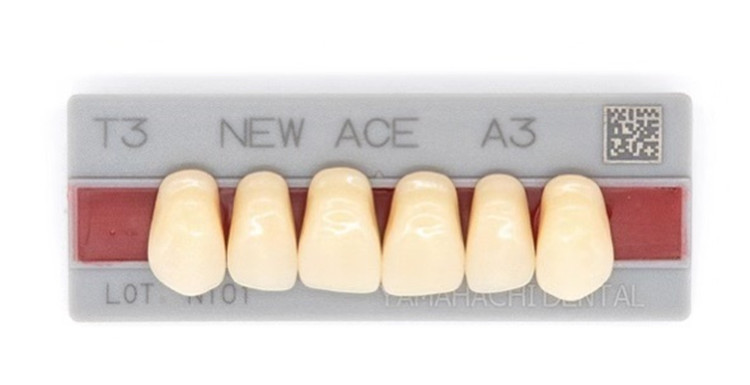 False Teeth Material For Dental Labs Acrylic Resin Teeth Synthetic