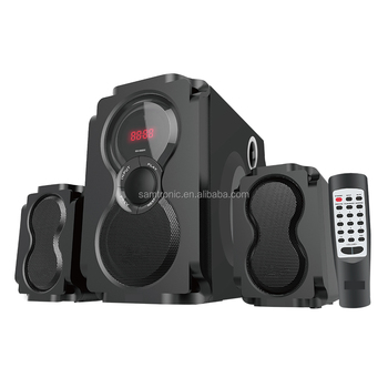 Samtronic 2.1 Channel Bluetooth Multimedia Active Audio System Speaker Computer home theatre system Speaker SM-8118
