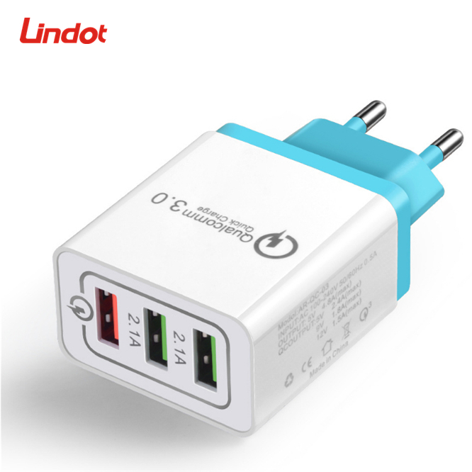 Chargeur Rapide rapide QC3.0 QC2.0 USB chargeur Adaptateur 18W Chargeur Mural Portable Pour SAMSUNG IPHONE HUAWEI iphone