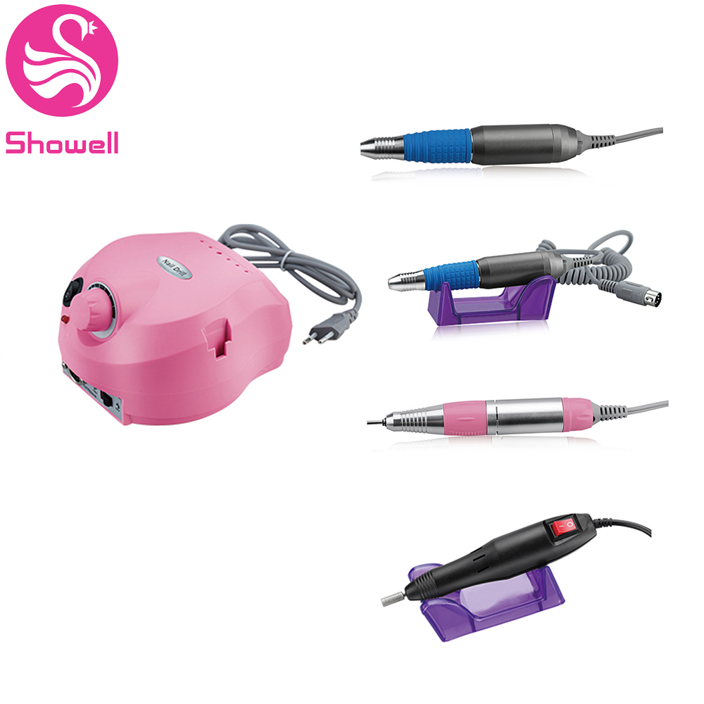 Portable Electric Nail Polisher Multi-function Nail Drill Sets Suitable Manicure&Pedicure