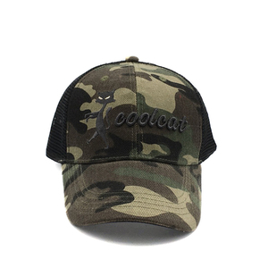 Factory Promotional Man Sports Baseball Caps Military Uniforms trucker hat