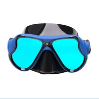 UV Lens Diving Mask Top Quality Low Volume Silicone Spearfishing Snorkeling Mask