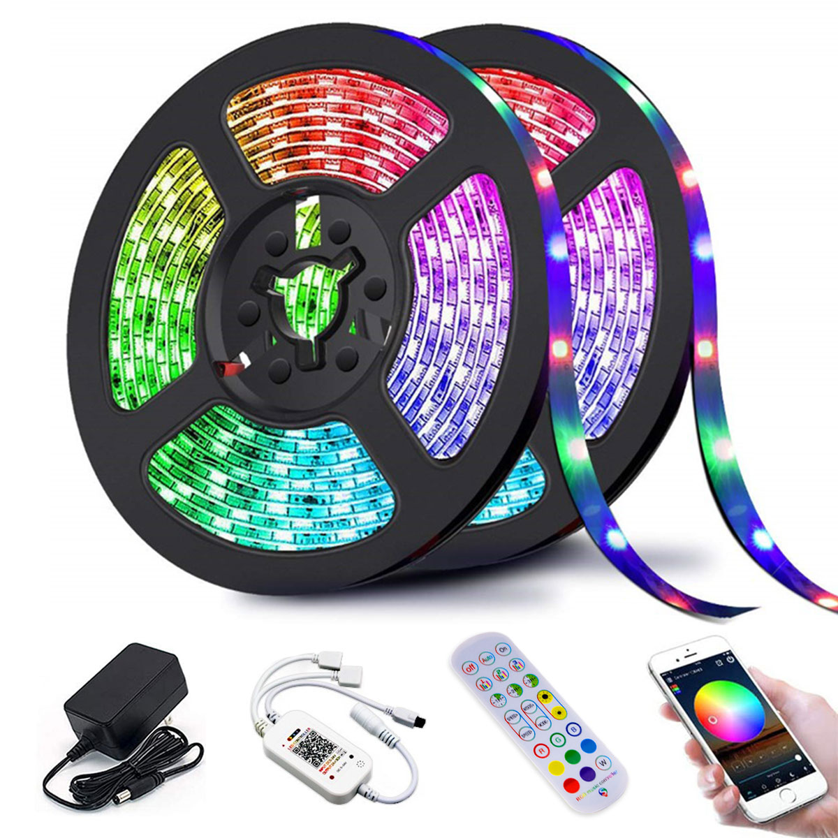 Online shop hot sale led strip light smart app control With Lowest Price for Amazon