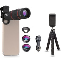 Apexel 18X Zoom telephoto telescope Camera lens Phone Lens With Mini Tripod phone lens for samsung galaxy 8+