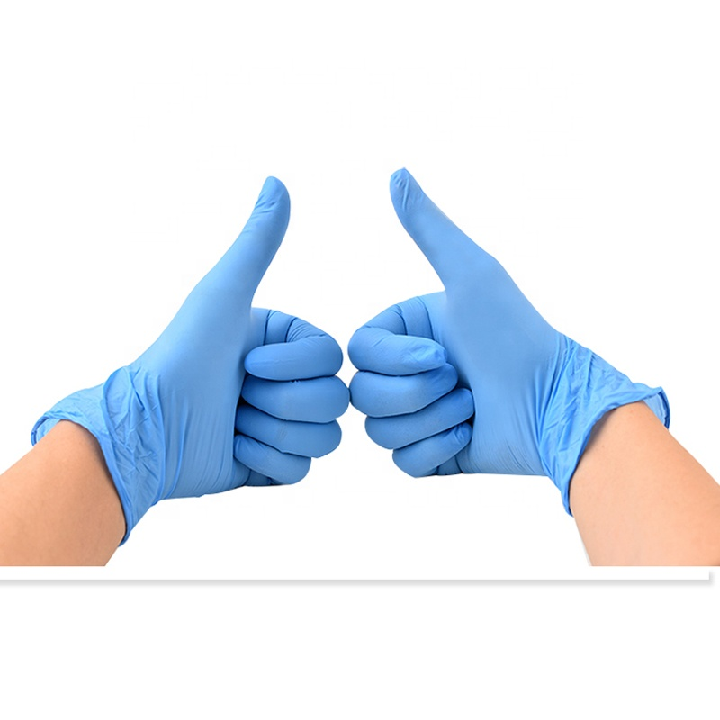 Xingyu Examination Examination Safety Gloves Powder Free  Disposable  Nitrile Gloves