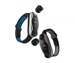 Bluetooth Earphone handfree smart watch TWS T90 Wireless Earbuds Portable Heart Rate Smart Bracelet