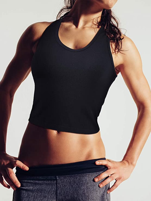 New Yoga Tops Women Sexy Gym Sportswear Vest Fitness tight woman clothing Sleeveless Running shirt Quick Dry black Yoga Tank Top