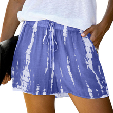 2020 mode Custom Sommer Casual Tie Dye Kordelzug <span class=keywords><strong>Shorts</strong></span> <span class=keywords><strong>Frauen</strong></span>