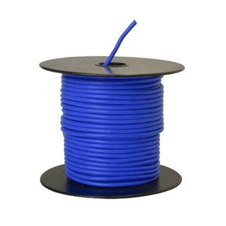 14Gauge GPT Automotive copper primary <strong>wire</strong> of 100 foot spool blue color for Automotive Dash Harness Hookup Car Speaker