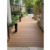Senlue synthetic decking flooring outdoor coextrusion plastic composite wood panel