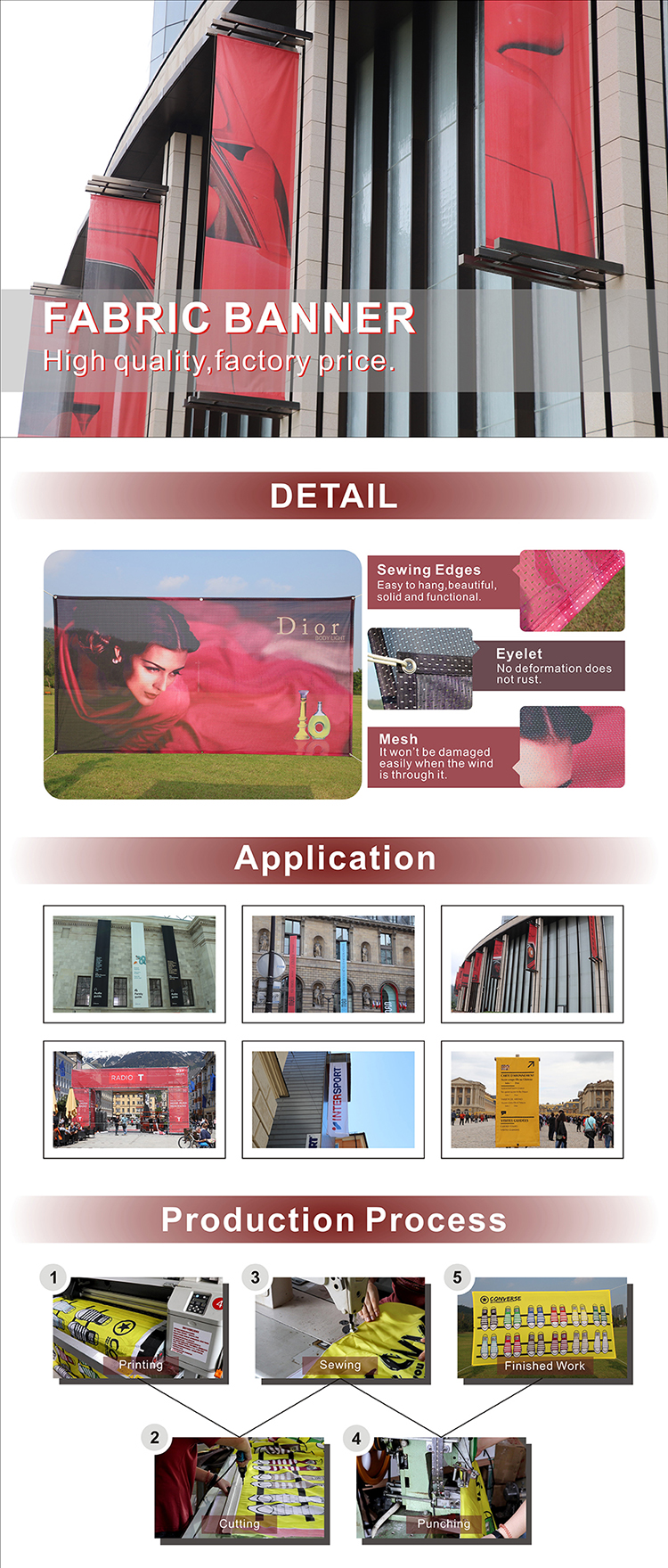 Cheap Custom Paper Advertising Promotional Business Flyer Brochure Movie Wall Posters Printing