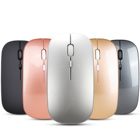 New desktop office laptop bluetooth dual mode 2.4G quiet ultra-thin gaming wireless mouse
