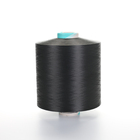 Dope dyed black 100d dty nim polyester filament yarn
