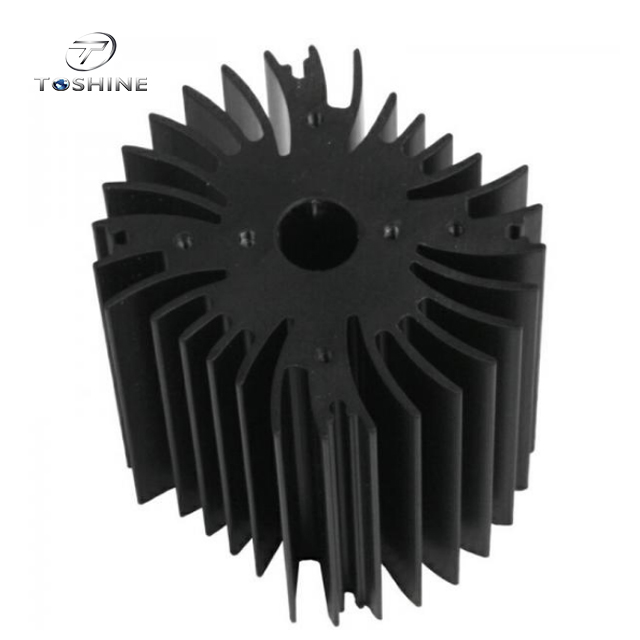 Drilling Bronze Aluminum Notebook Cooler Heatsink Extrusion Profiles Industrial With CNC Machining